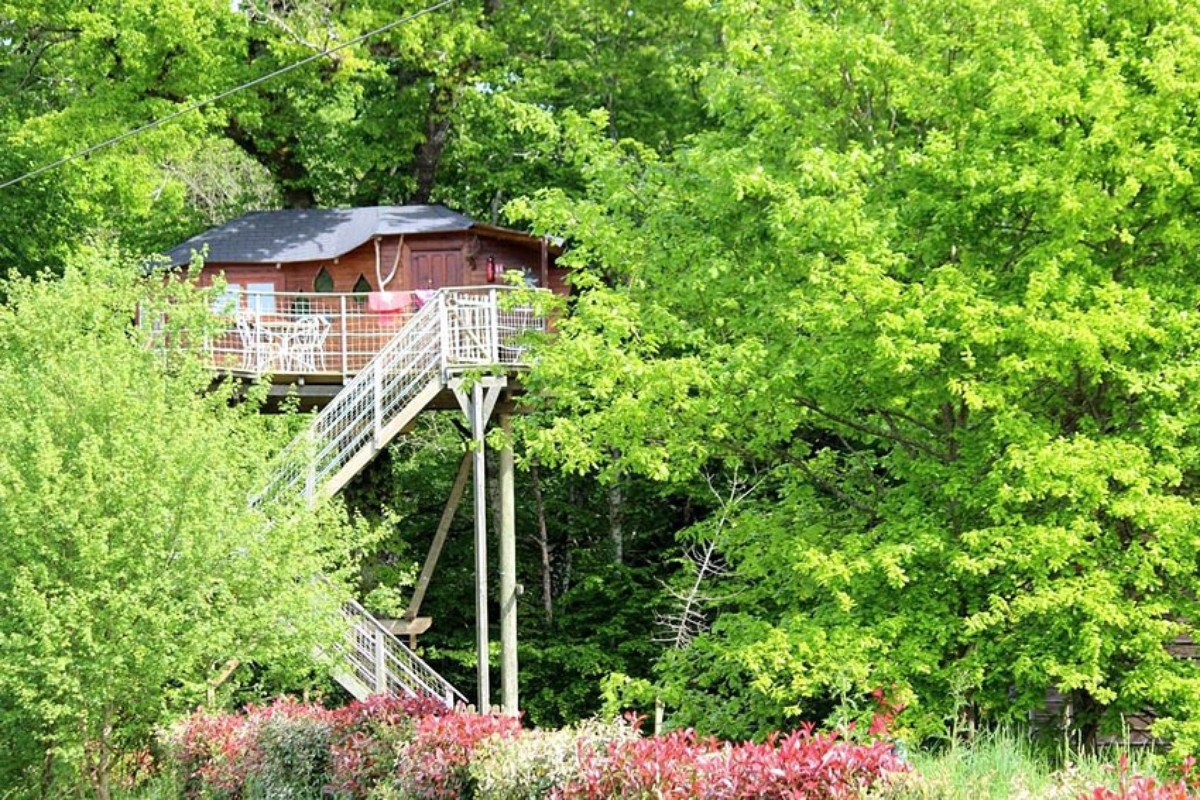 Tree House Getaways in France
