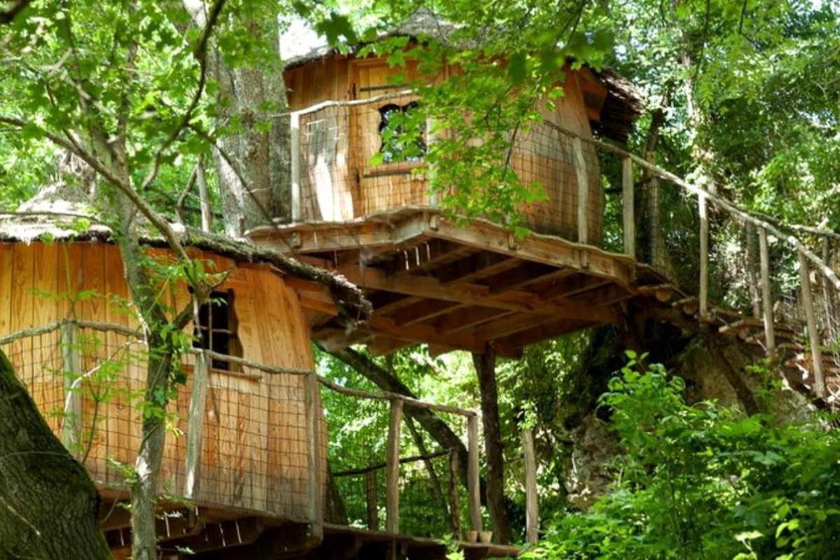 Tree House Rentals in Southern France