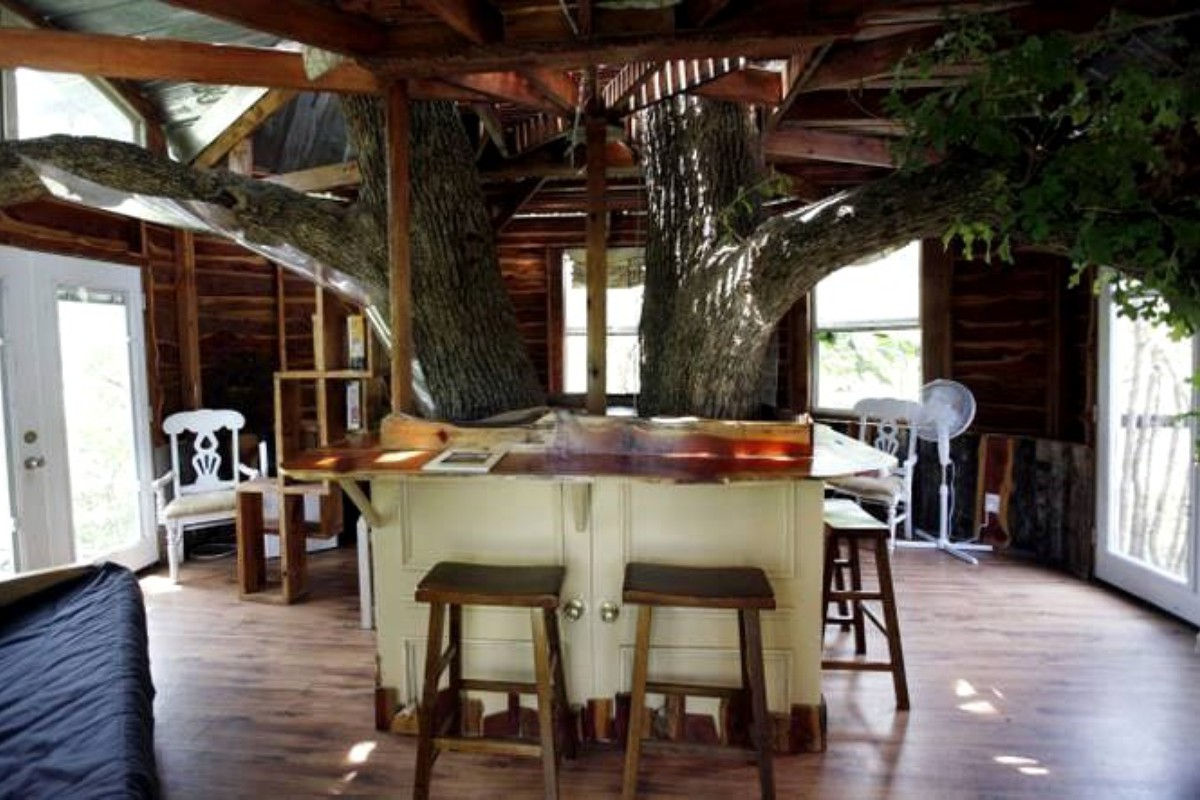 Tree Houses near Texas Wine Country