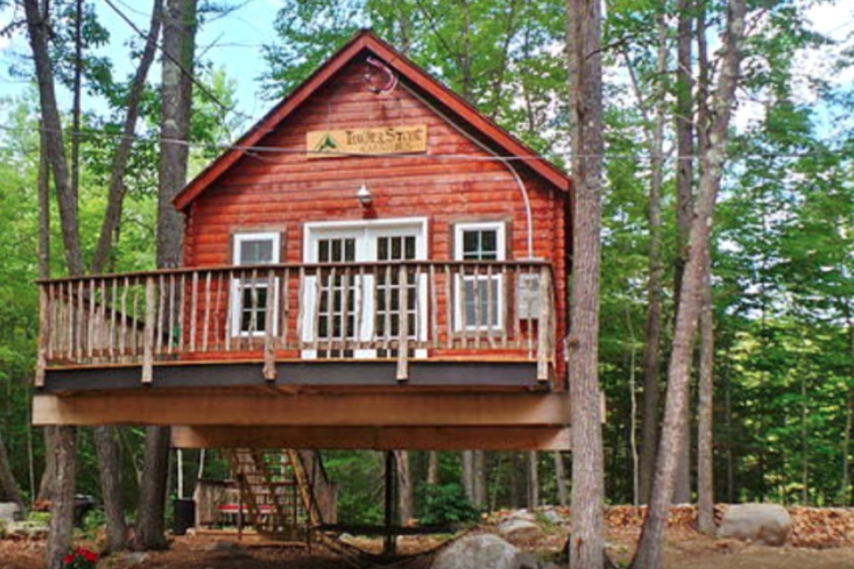Treetop Getaways in New England