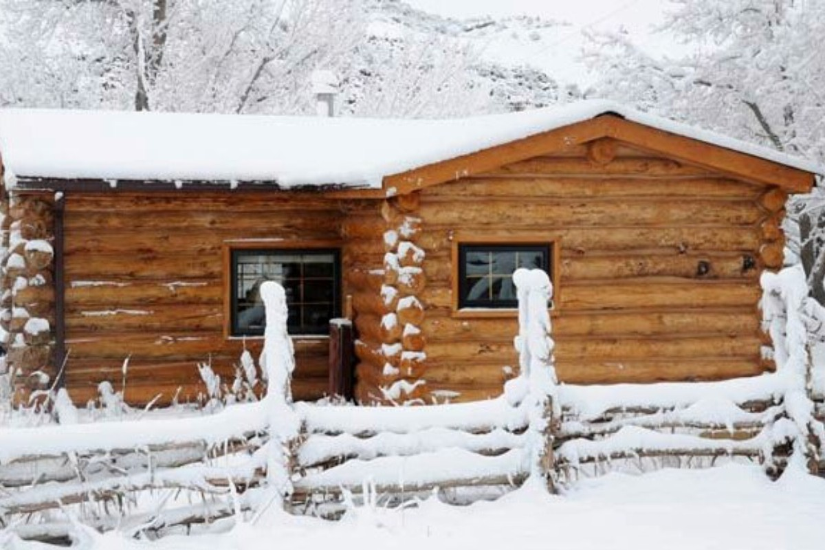 Winter Log Cabin Rentals In Colorado