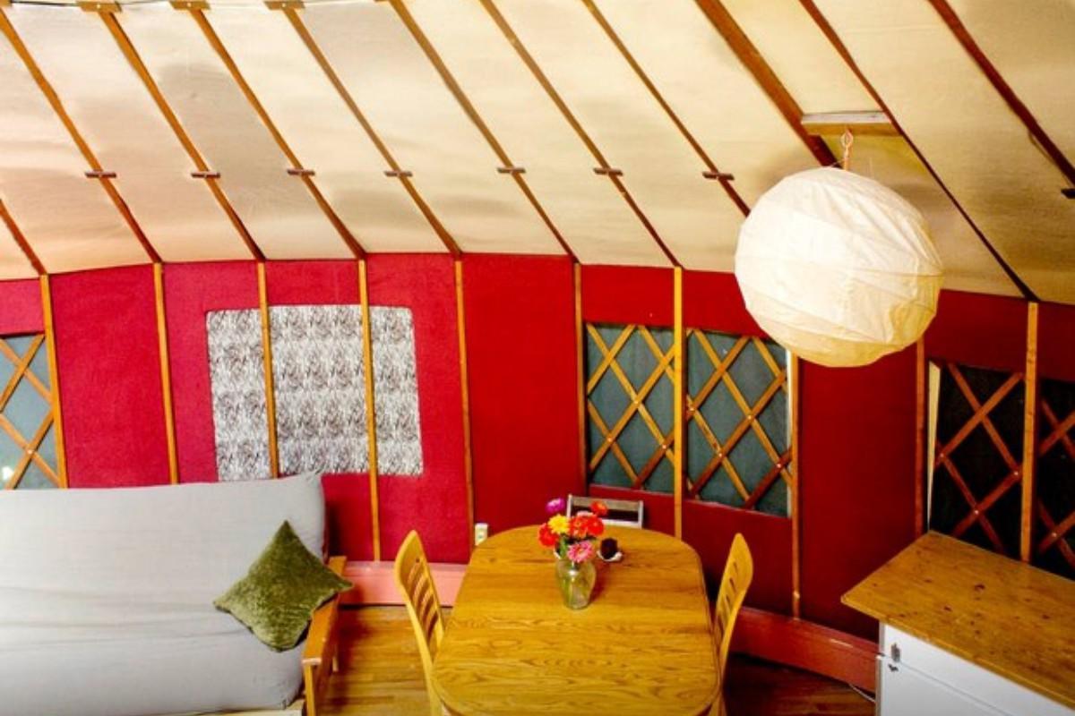 Yurt Getaways In The U S Glampinghub Com