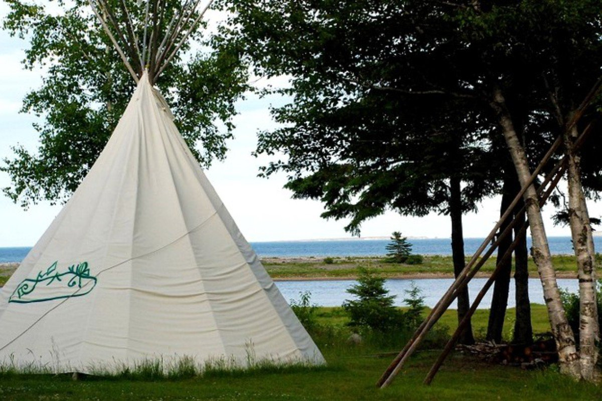 Yurt and Tipi Camping in Canada