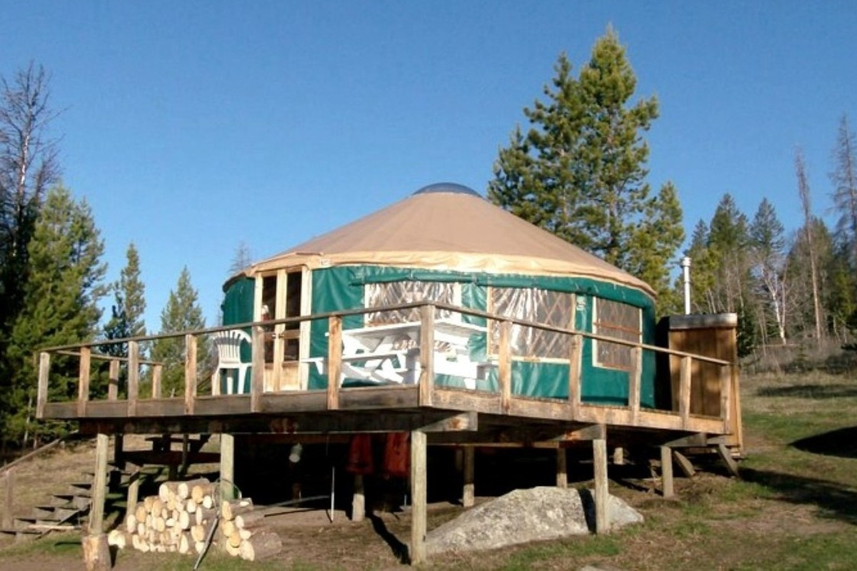 Yurt Camping in British Columbia