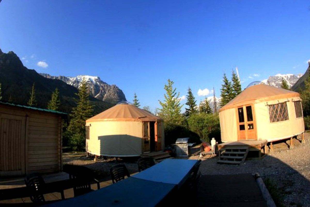 Yurt Getaways in British Columbia