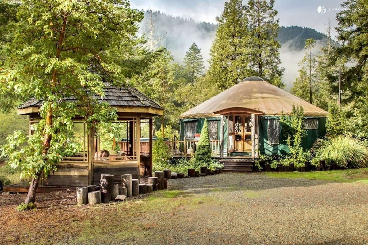 Yurt Living with Pet-Friendly Glamping Rentals