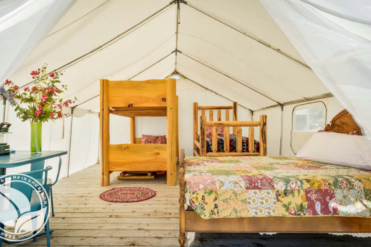 Yurt and Luxury Tent Camping near Redwood National Parks, Oregon