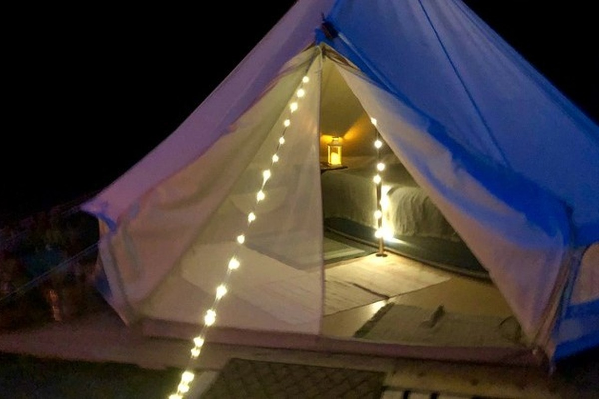 Yurt and Tent Rentals near Maupin