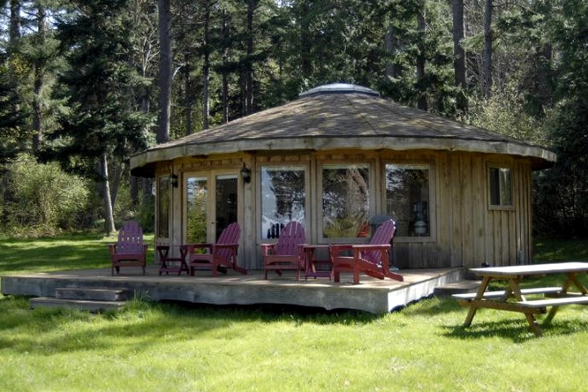 Yurts in Washington State