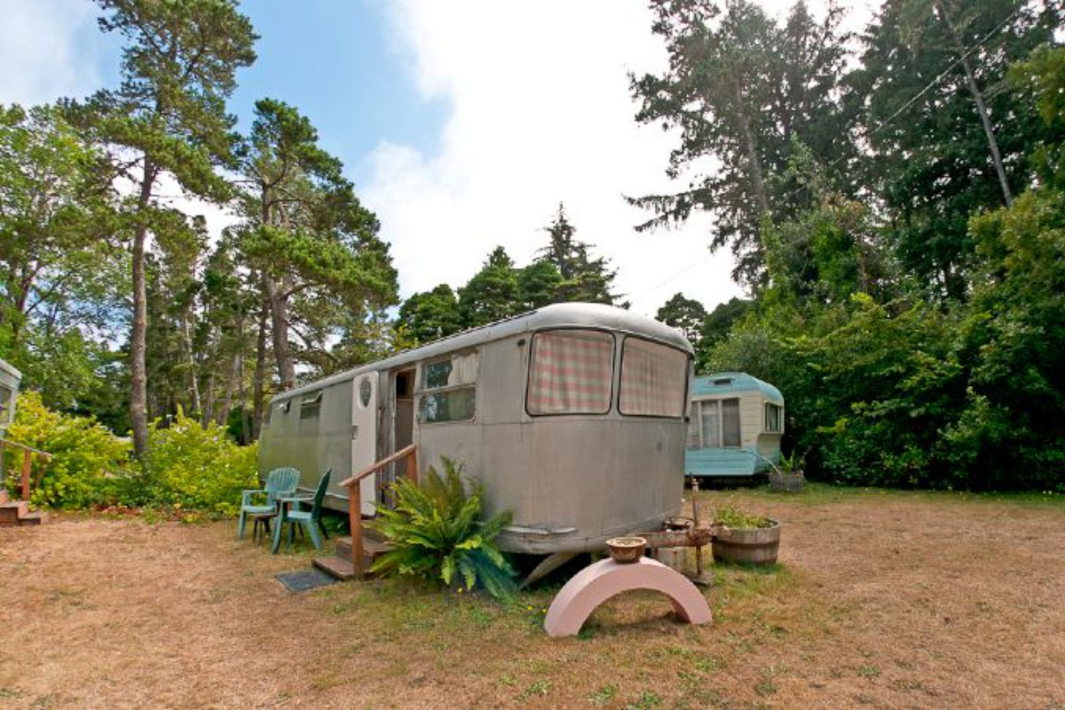 Glamping near Long Beach, Washington